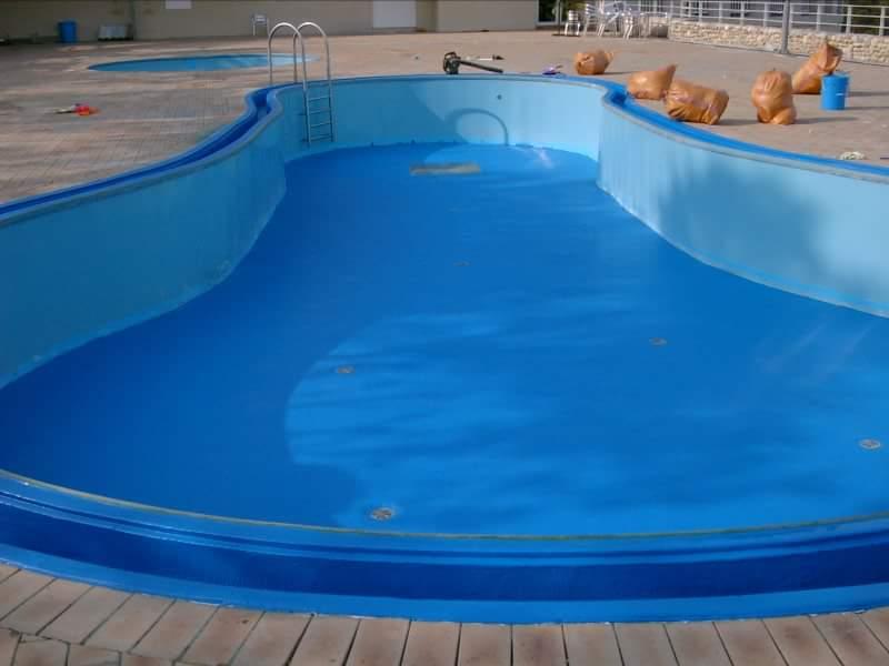 polyurea sprey havuz kaplama