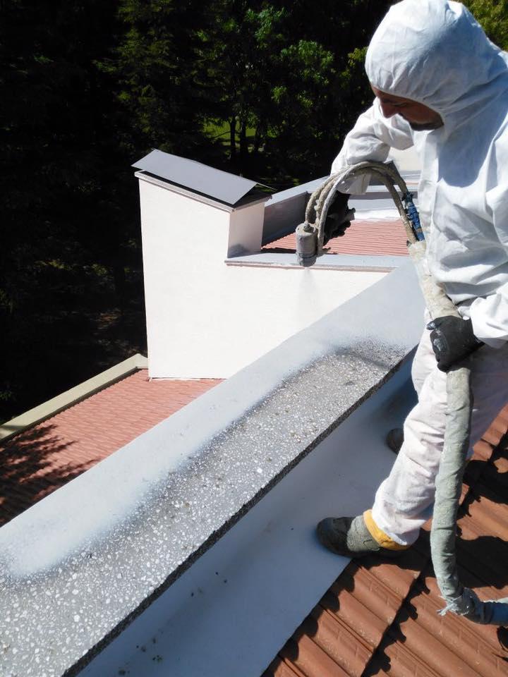 Polyurea sprey teras su yalıtımı