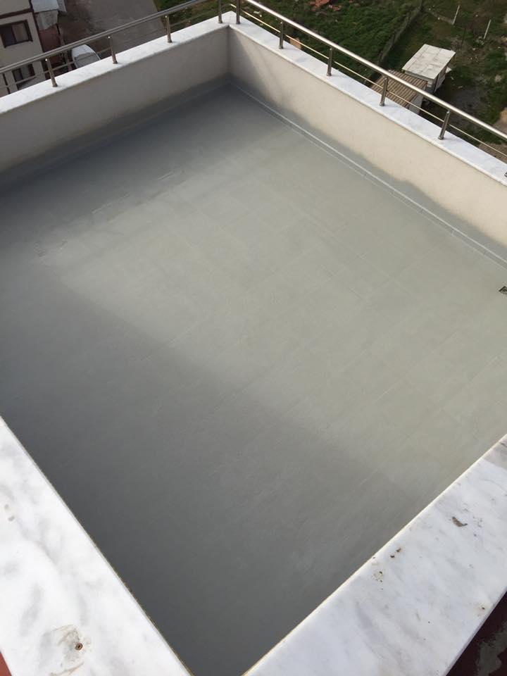 Polyurea sprey teras yalıtımı